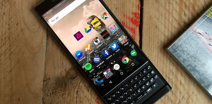 New BlackBerry on Android