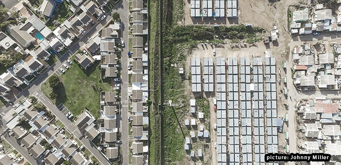 This Thin Line Shows Inequality In South Africa [Photo Gallery]
