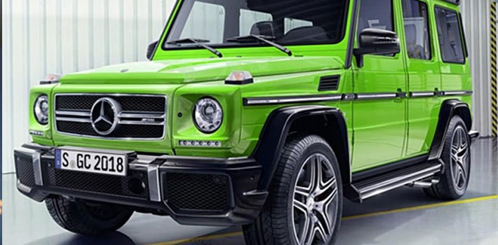 The New Mercedes Benz G Wagen