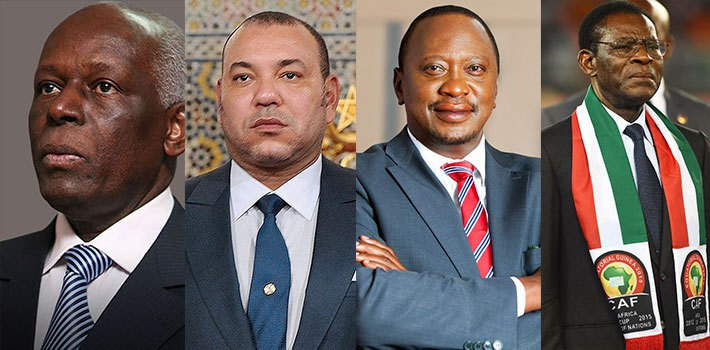 Top Richest Presidents in Africa